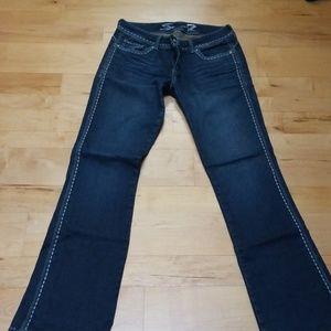 Seven flared leg jeans